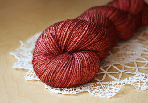 Lacquer / Hand Dyed Yarn