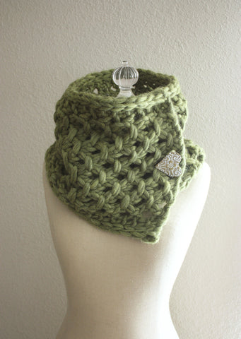 Lattice Cowl / Scarf Knitting Pattern