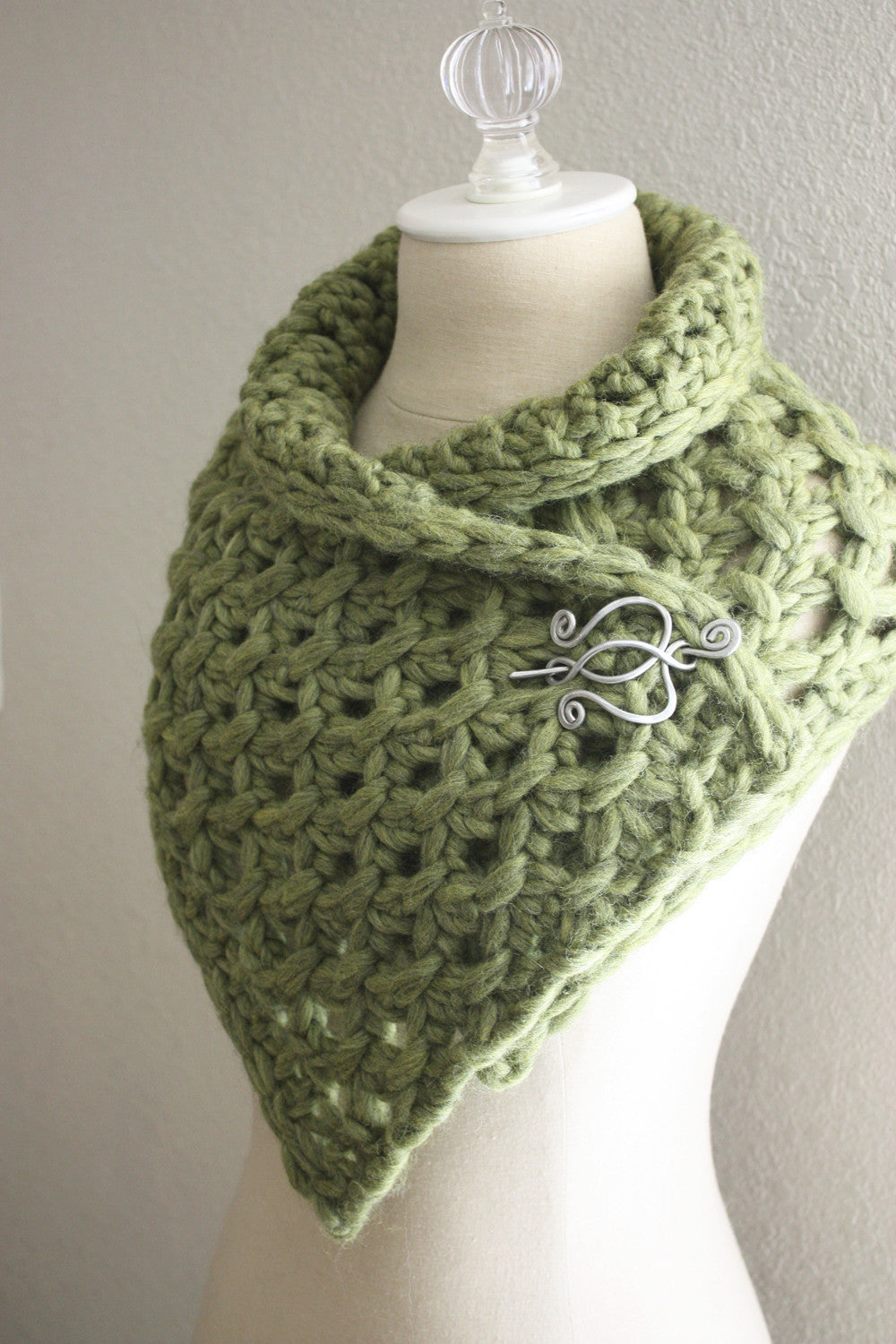 Lattice Cowl / Scarf Knitting Pattern – Phydeaux Designs & Fiber