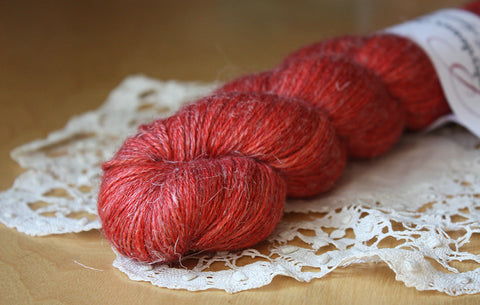 Aegypte / Fingering Weight / Melisandre Baby Alpaca Silk Hand Dyed Yarn / Ready to Ship