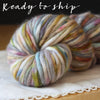 Coussin / Super Bulky Weight / Mercury Glass Merino Wool Hand Dyed Yarn / READY TO SHIP