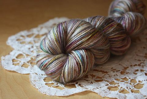 Mercury Glass / Hand Dyed Yarn