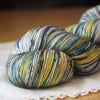 Alluree / Fingering Weight / Night Magic Superwash Merino Cashmere Nylon Hand Dyed Yarn / Ready to Ship