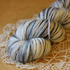 Down / Fingering Weight / North Pole Merino Wool Cashmere Nylon Hand Dyed Yarn
