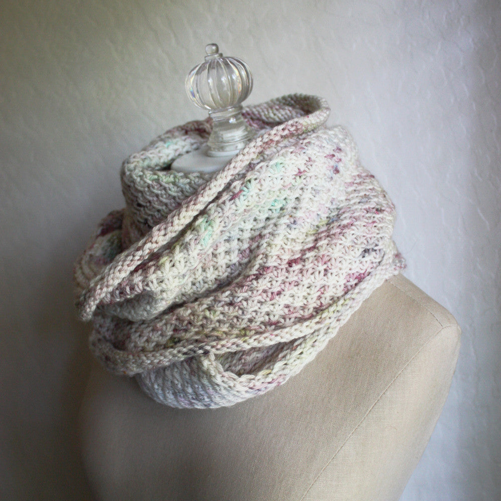Phydelle Infinity Scarf / Cowl Knitting Pattern