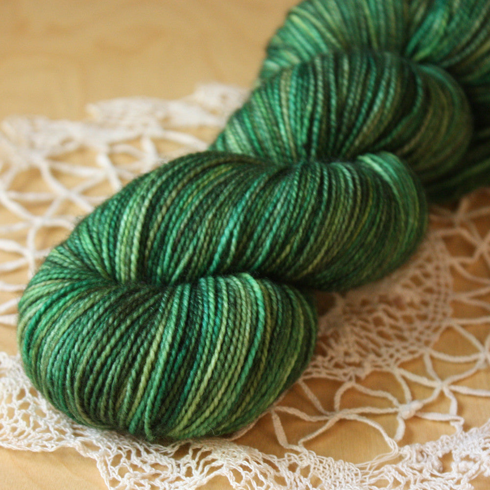 Pine Bough / Hand Dyed Yarn