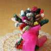 Petite Posies / A Bouquet of Skeinlettes / Hand Dyed Mini Skeins Fingering Weight Yarn