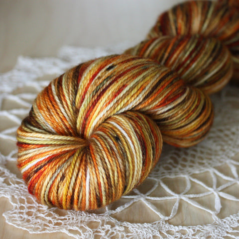 Mini Skeins / 400 Yards / Hand Dyed Autumnal Mini Skeins NEW MCN Fingering Weight