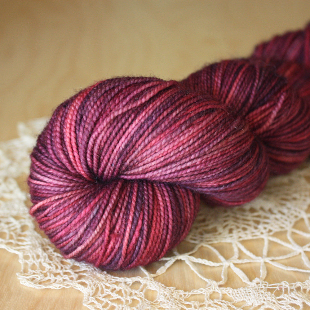 Pomegranate / Hand Dyed Yarn