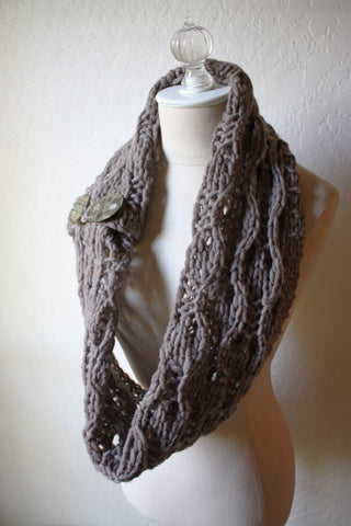 Rusticale Cowl / Wrap Knitting Pattern