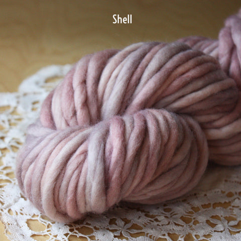 Coussin / Super Bulky Weight / Merino Wool Hand Dyed Yarn
