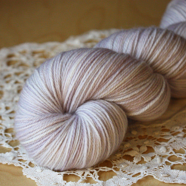 Snow Crocus / Hand Dyed Yarn