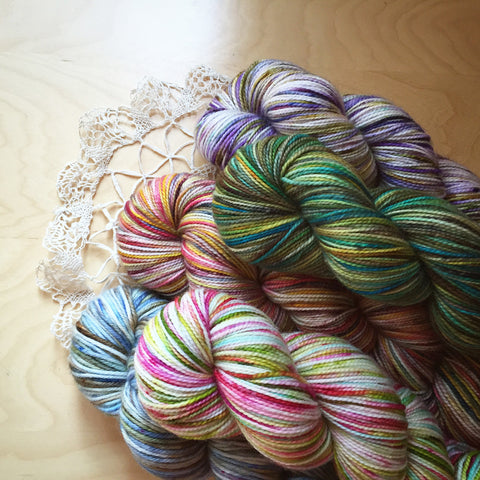 Three Month Sock Yarn Club /