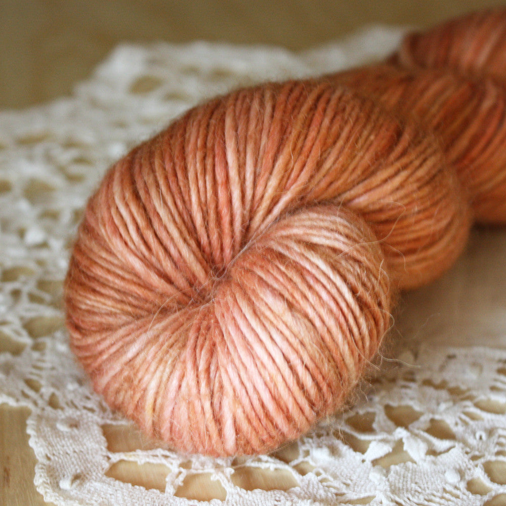 Spiced Peaches / Hand Dyed Yarn