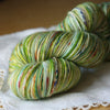 Alluree / Fingering Weight / Verde Superwash Merino Cashmere Nylon Hand Dyed Yarn / Ready to Ship
