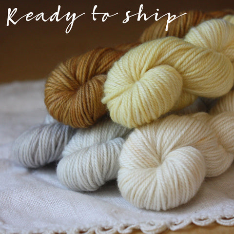 Mini Skeins / Wonderful Life / Alluree Luxury Fingering Weight / Hand Dyed MCN