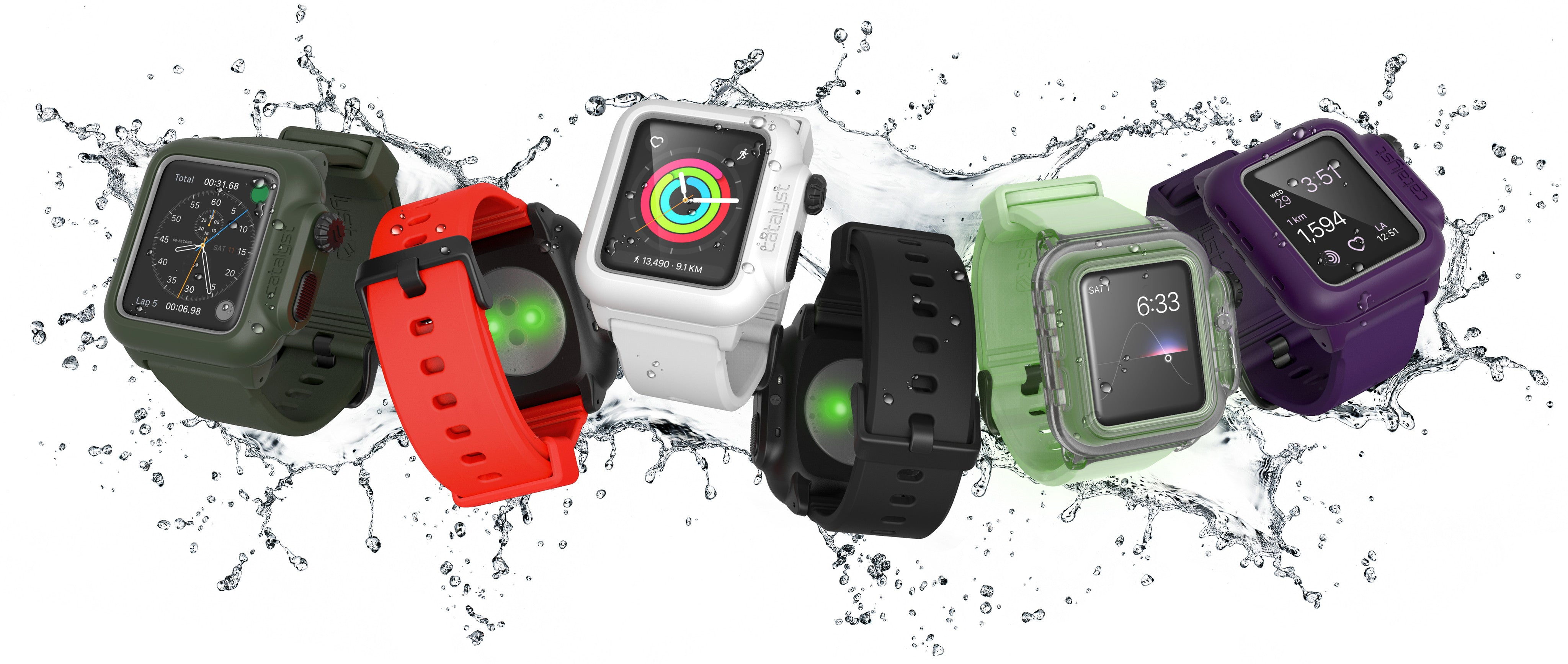newest 2f598 8facc Best Catalyst® Waterproof Case for Apple Watch, Drop proof iWatch ...