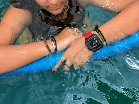 Apple Watch in Catalyst Case while swimming