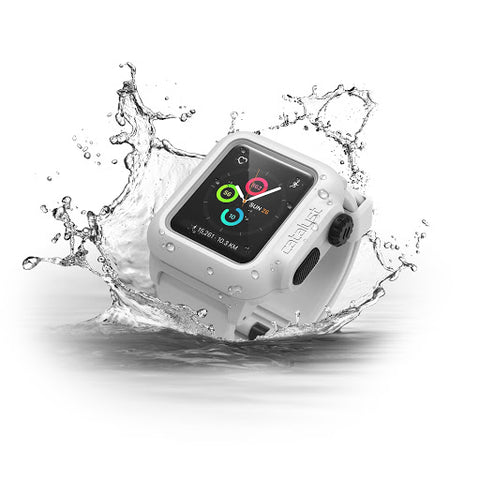 Alpine White Catalyst Waterproof Case for Apple Watch