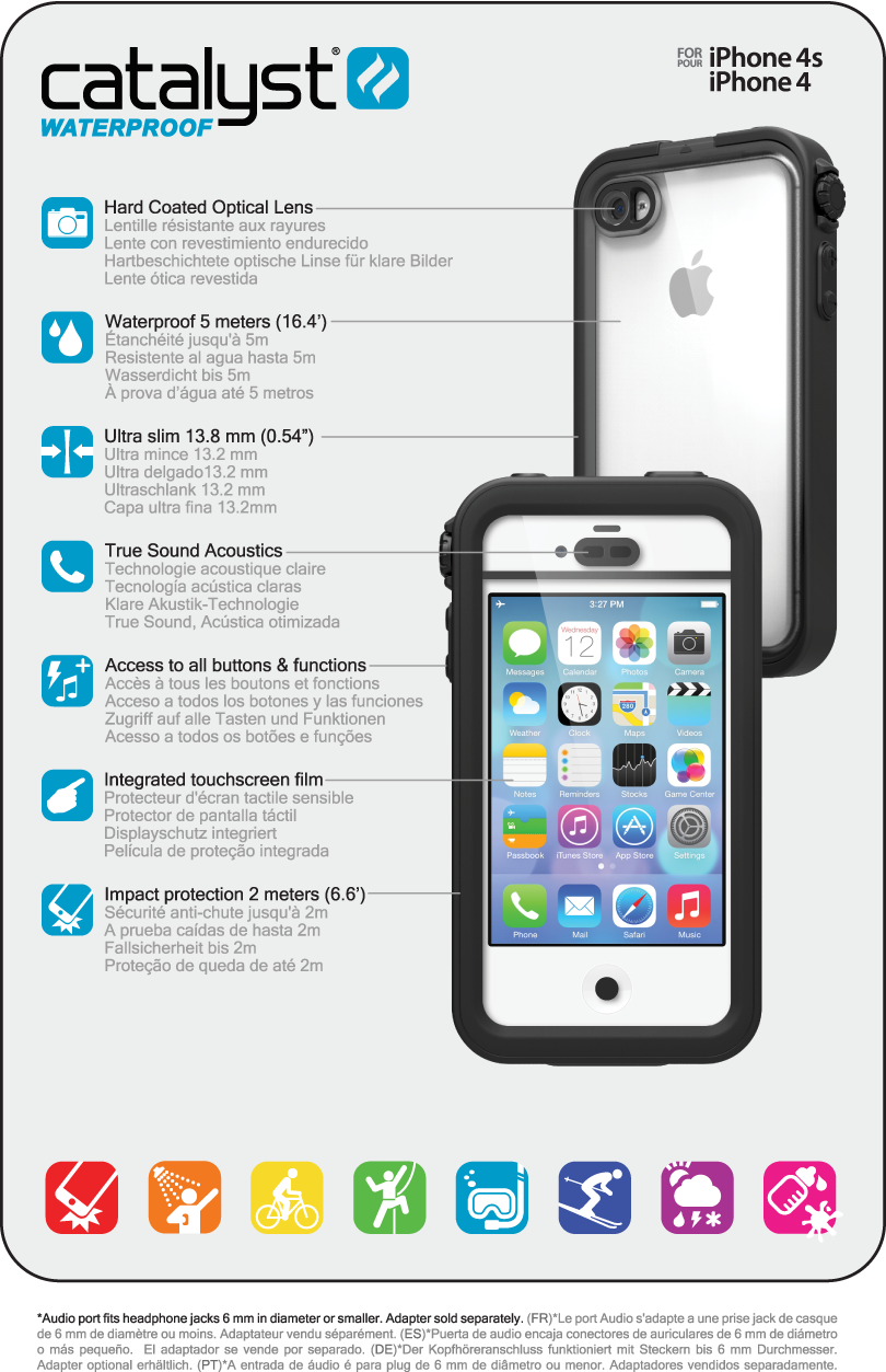 iphone 4s specs catalyst 174 for iphone 4 4s technical specifications 1444