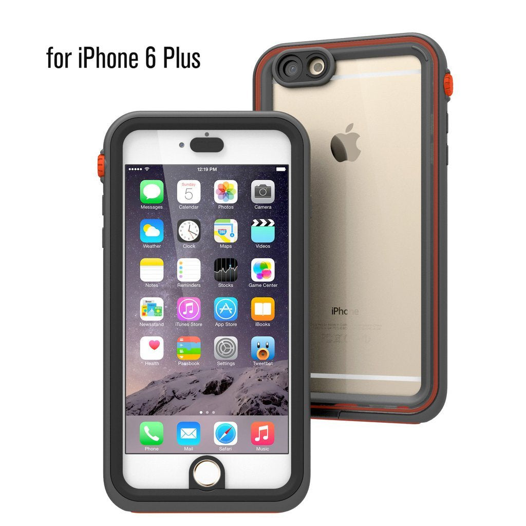 new arrival 6a29d 13910 Buy Catalyst® Waterproof Case for iPhone 6 Plus & Screen Protector ...