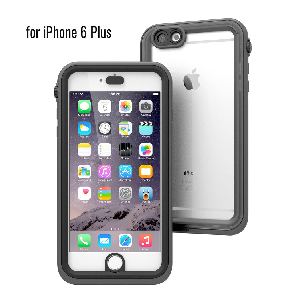 new arrival f33fd ef786 Buy Catalyst® Waterproof Case for iPhone 6 Plus & Screen Protector ...