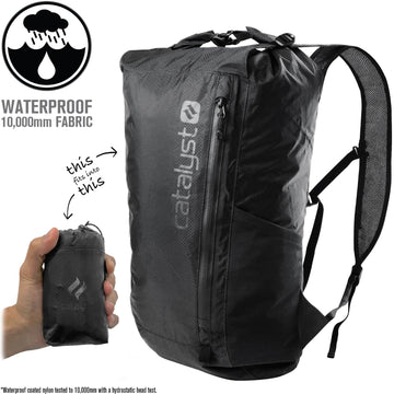 CAT20LWBPBLK | Waterproof 20L Backpack