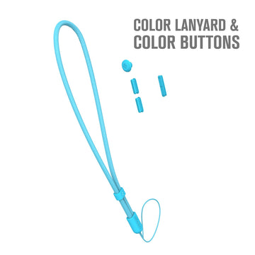 CATBUN01BLU |  Blue Essentials Bundle Accessories - Lanyards & buttons