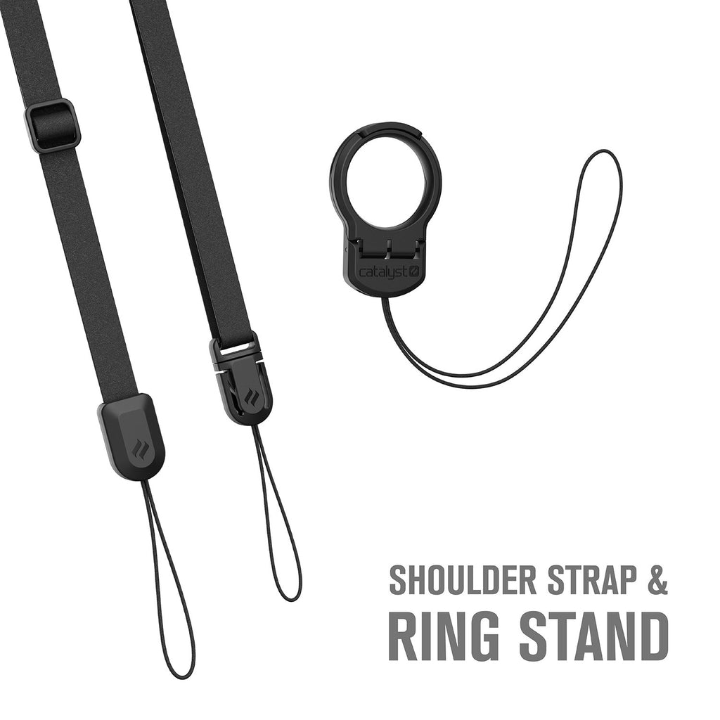 TheOut & About Bundle Accessories - Shoulder Strap and Ring Stand