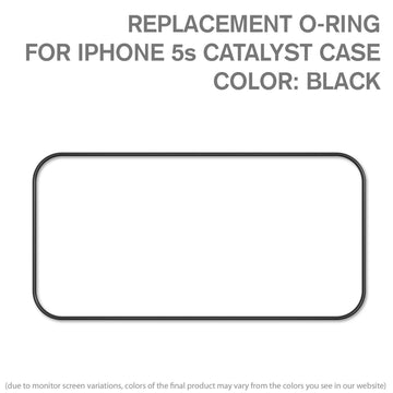CATORIBLK5 | Replacement O-ring for Waterproof Case for iPhone 5/5s, iPhone SE