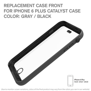CATFROBLK6+ | Replacement Case Front for Waterproof Case for iPhone 6 Plus