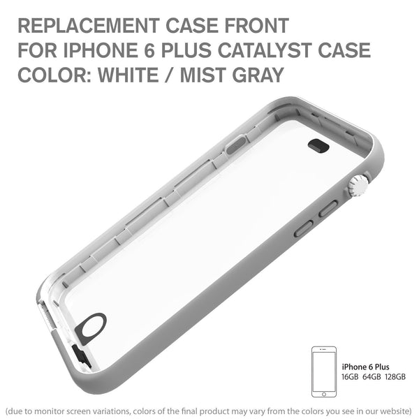 best website 3329f 87ac2 Replacement Case Front for Waterproof Case for iPhone 6 Plus