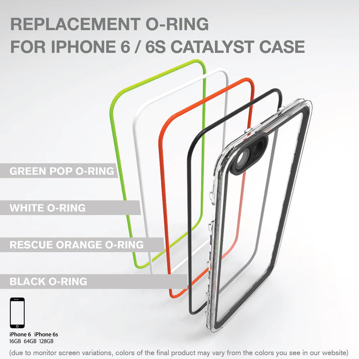 Replacement O-ring for Catalyst Case for iPhone 6 / 6s