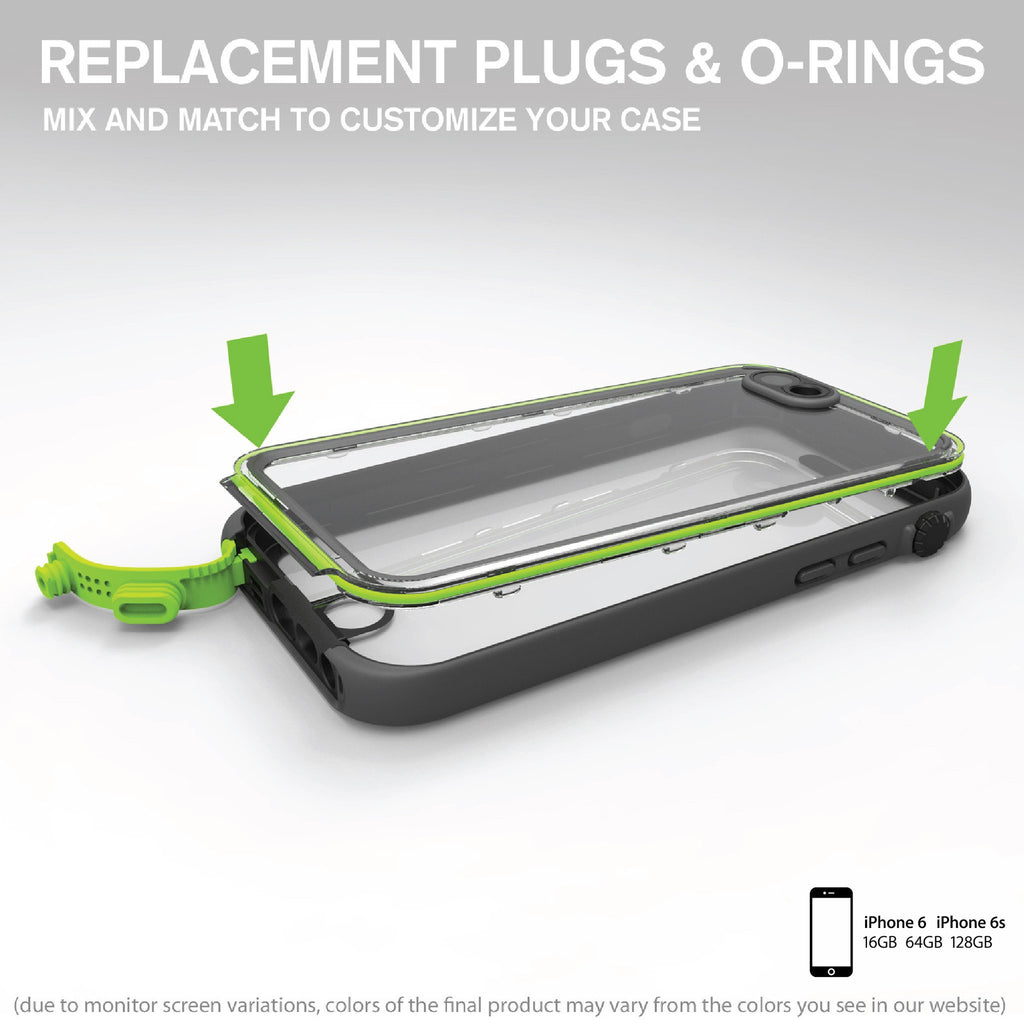 Replacement O-ring for Waterproof Case for iPhone 6/6s