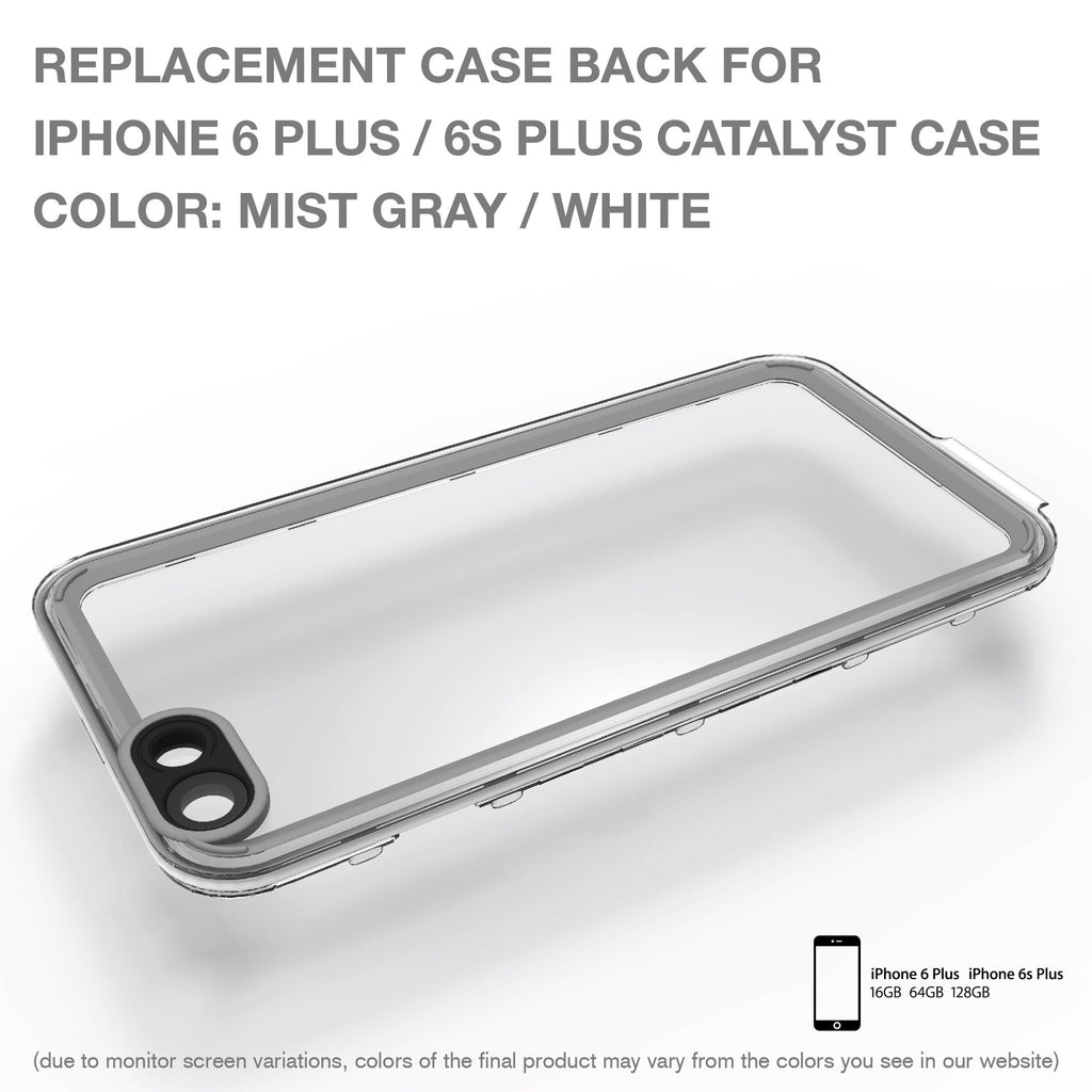 Replacement Case Back for Waterproof Case for iPhone 6 Plus/6s Plus