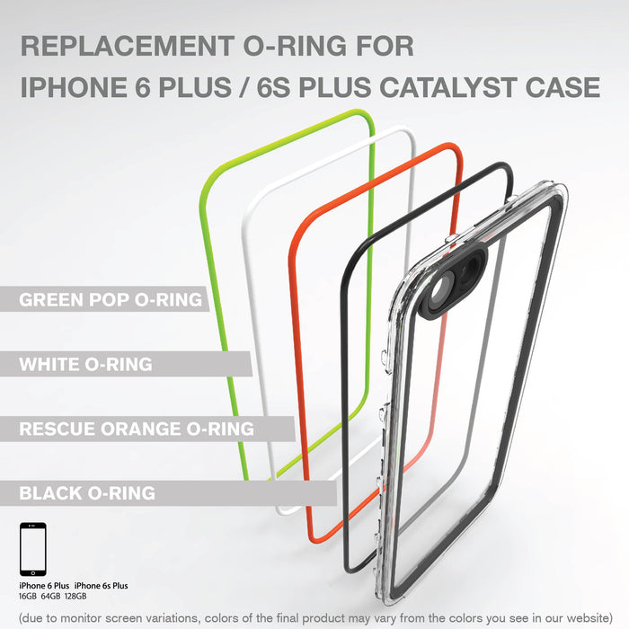 Replacement O-ring for Catalyst Case for iPhone 6 Plus / 6s Plus