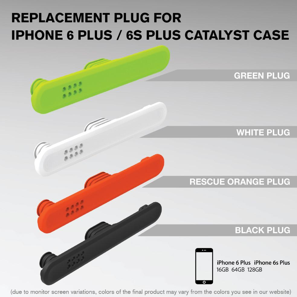 Replacement Plug for Waterproof Case for iPhone 6 Plus/6s Plus