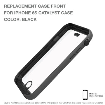 CATFROBLK6S | Replacement Case Front for Waterproof Case for iPhone 6s