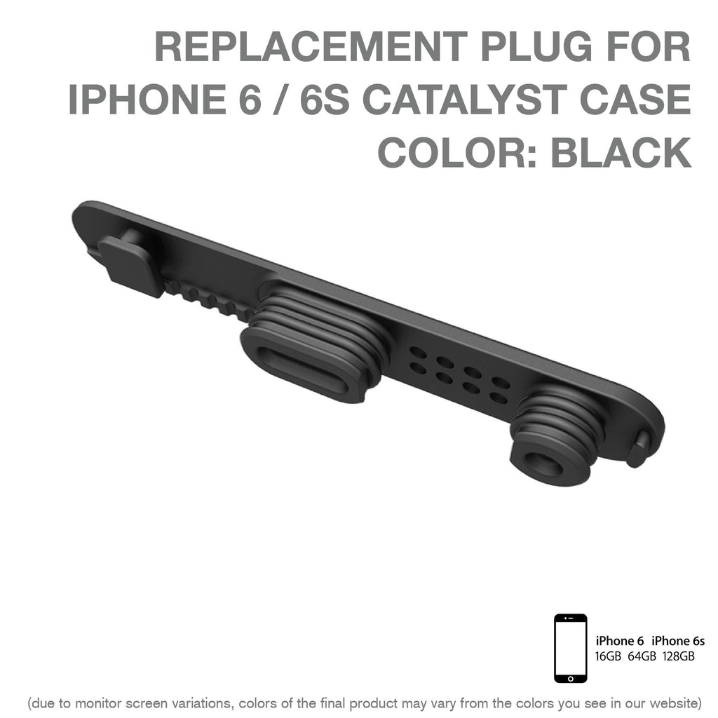 Replacement Plug for Catalyst Case for iPhone 6/ 6s