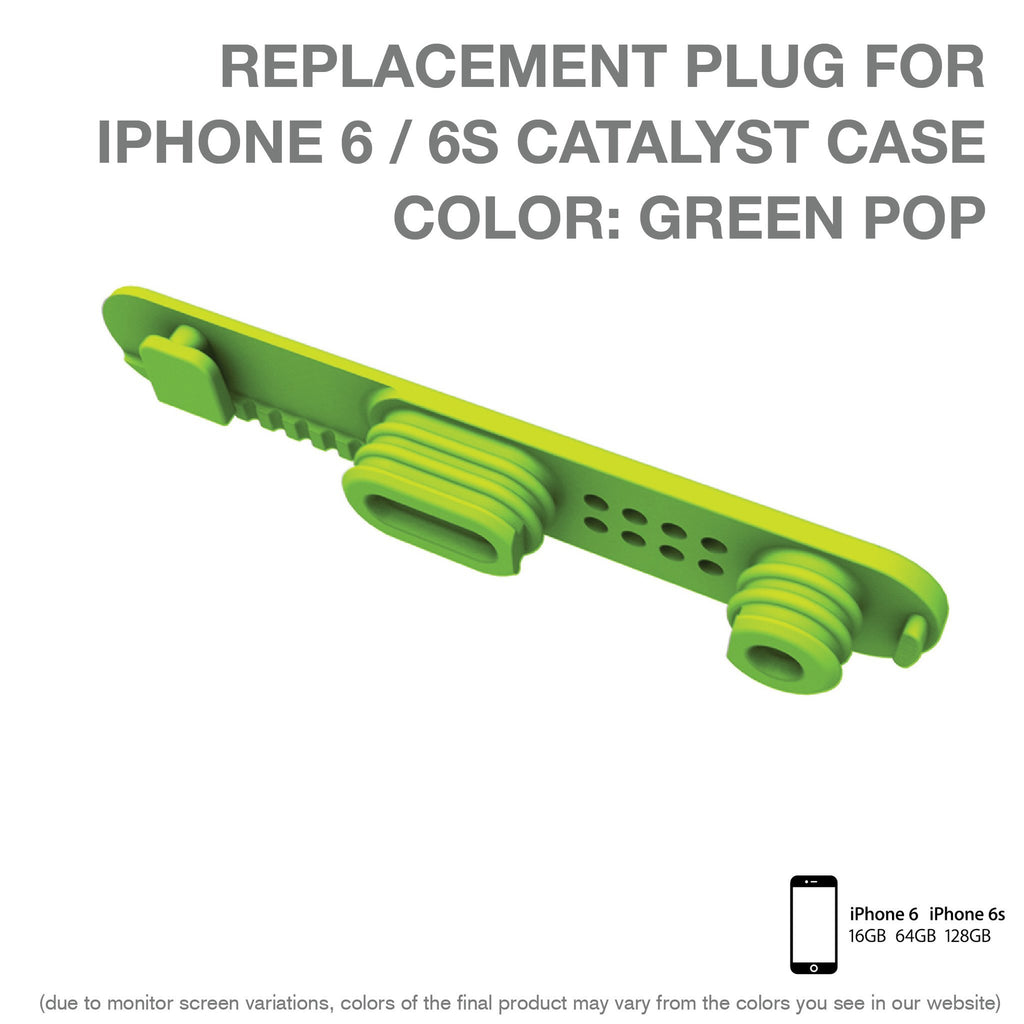 Replacement Plug for Waterproof Case for iPhone 6/6s – Catalyst
