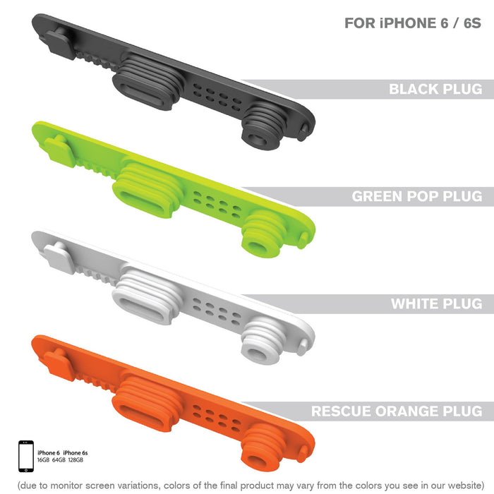 Replacement Plug for Waterproof Case for iPhone 6/6s