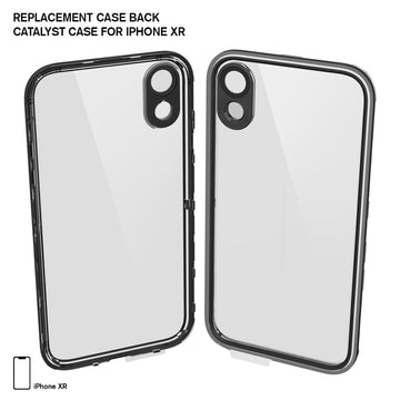 CATBACBLKXM | Replacement Case Back for Waterproof Case for iPhone XR