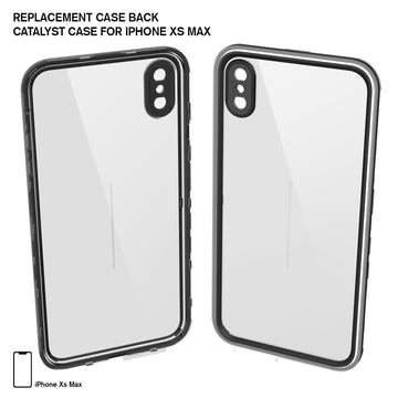 CATBACBLKXL | Replacement Case Back for Waterproof Case for iPhone Xs Max