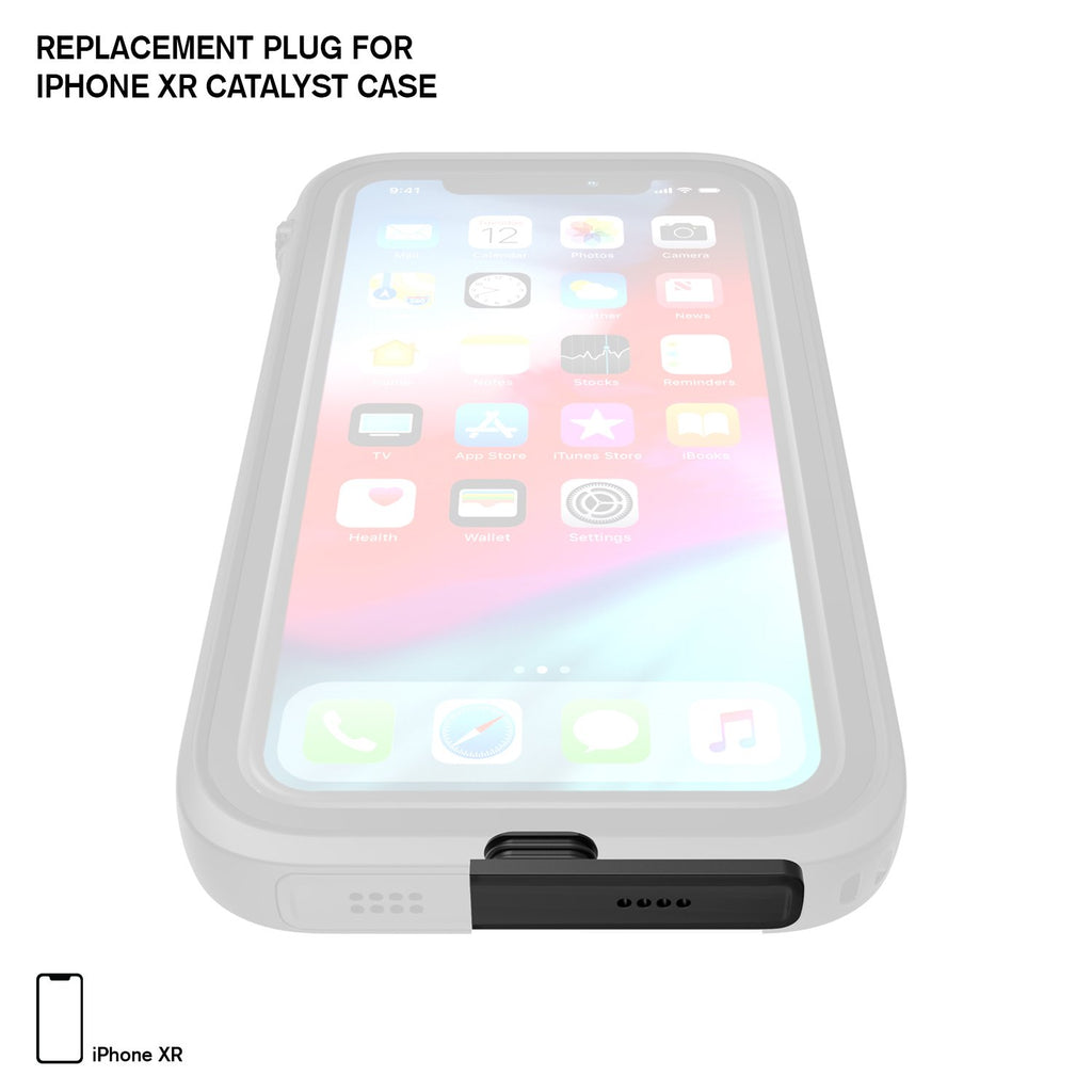 Replacement Plug for Waterproof Case for iPhone XR