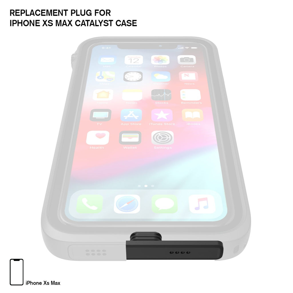 Replacement Plug for Waterproof Case for iPhone Xs Max