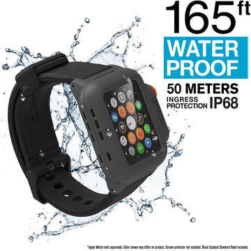 CATIWATRES | Waterproof Case for 42mm Apple Watch Series 1