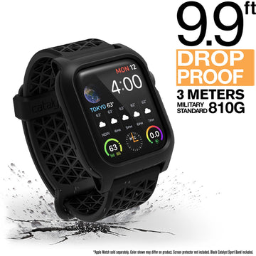 CAT40DROP4BLK | Impact Protection Case for 40mm Apple Watch Series 4 & 5