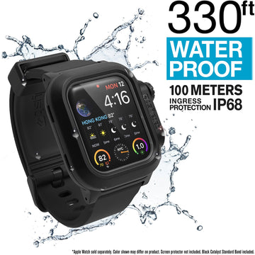 CAT40WAT4BLK | Waterproof Case for 44mm Apple Watch Series 4 & 5