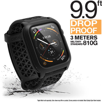 CAT44DROP4BLK | Impact Protection Case for 40mm Apple Watch Series 4 & 5