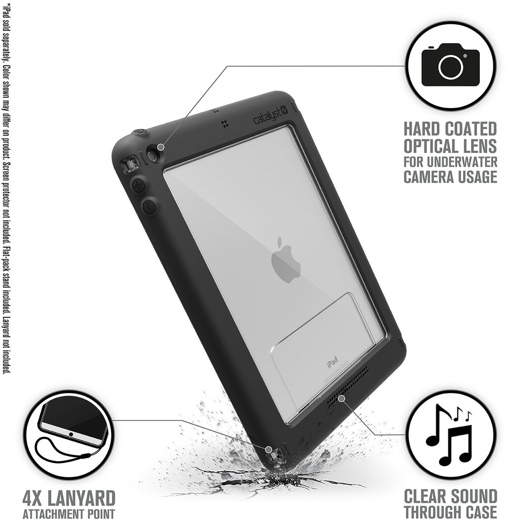Waterproof Case for iPad 9.7-inch - 5th & 6th Gen (2017/2018)